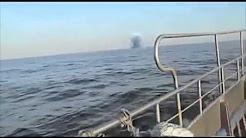Ufo landet im Meer