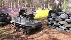 Paintball im Panzer