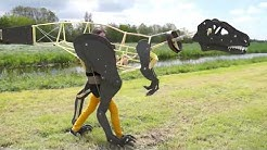 Mechanisches Dinosaurier Kostüm